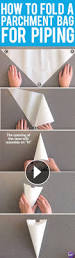 how to m learn how to make a piping bag out of parchment paper parchment