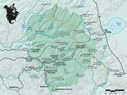 Map Of Yosemite Yosemite National Park Outdoor Project