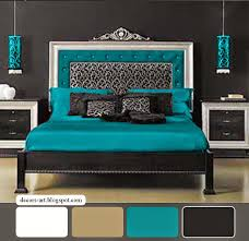 Best  Gray Turquoise Bedrooms Ideas On Pinterest Yellow Gray - Blue and black bedroom ideas