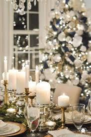 idee per la tavola per apparecchiare la tavola per la vigilia di natale candelabri