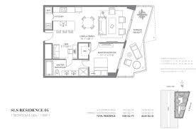 Skyline Brickell Floor Plans Sls Hotel And Residencesdarinfeldman Darinfeldman