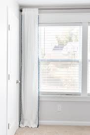 No Curtains Diy No Sew Pom Pom Curtains Orc Week 5 Bless U0027er House
