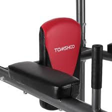 tomshoo multi station power tower pull up stand rack push up sales