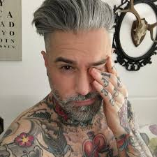 guys with gray hair popsugar love u0026