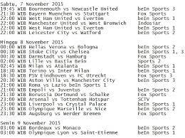 jadwal siaran langsung sepak bola di televisi republika online