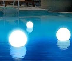 floating pool ball lights solar ball lights garden jobi club