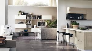 cucine e soggiorno open the living