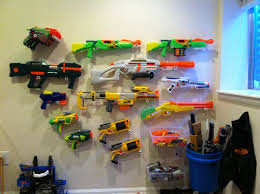 nerf car gun nerf gun wall i used 1 2 inch pvc with caps drill hole in cap