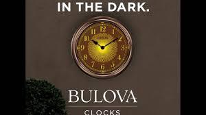 ivation clock bulova illuminated weather master clock youtube