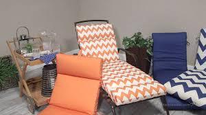 valencia outdoor chaise lounge cushion french edge 72 x 22 x 4