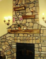 custom rustic wood fireplace mantels for sale by best of nature