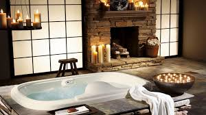bathroom interior furniture bathroom oval white stone bath tub