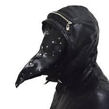 plague doctor hat xcoser plague doctor mask props steunk