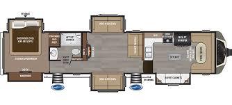 Fifth Wheel Floor Plans 2017 Keystone Montana 3820fk Good Life Rv