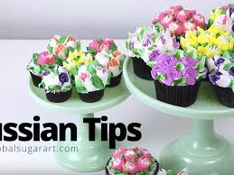 flower decorating tips how to use russian piping tips cakecentral com