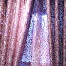 Rustic Country Curtains End Leaf Embroidery Purple Rustic Country Curtains