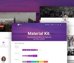 free web designer 30 best free html5 css3 ui kits for fast web design