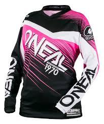 motocross gear for women o u0027neal element women u0027s jersey revzilla