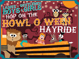 banner design the nashville zoo halloween event ghouls at