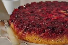 cranberry upside down cake video recipe joyofbaking com