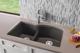 BLANCO LowDivide Kitchen Sinks Blanco - Single or double bowl kitchen sink