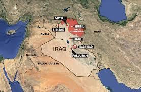Map Iraq Photo Iraq Map Kurdistan Abc News
