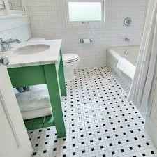 green bathroom tile ideas vintage black and white bathroom floor design ideas