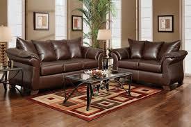 Leather Living Room Furniture Clearance Bailey Leather Sofa U0026 Loveseat