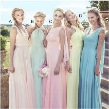 evening wedding bridesmaid dresses bridesmaid dress infinity dress convertible dress chiffon