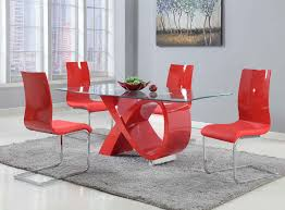 modern dining room sets full size of kitchen round wood and red