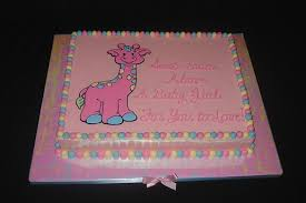 giraffe baby shower cakes baby shower cake jpg