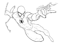 spiderman venom coloring pages printable kids colouring pages