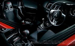 mitsubishi lancer sportback interior jdm mitsubishi lancer evolution x final edition revealed