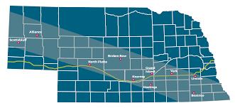 Lincoln Ne Map Total Solar Eclipse Nebraska Department Of Transportation