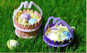 wooden easter baskets mini wooden easter baskets craft project ideas