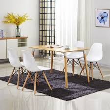 Dining Room Chairs Set Of 4 Set Of 4 Modern Dining Chairs Kitchen U0026 Dining Room Chairs