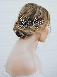 bridal hair pins exquisite rhinestone vine bridal hair pin verena bridal hair