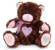 be mine teddy be mine brown plush 10 teddy with