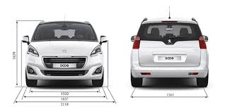 peugeot 5008 dimensions peugeot 5008 7 seater compact mpv and spacious family car
