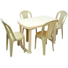 nilkamal kitchen furniture nilkamal shahenshah dining table with chair 4002 marble beige buy
