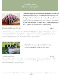 funeral homes prices burial pricing sorensons funeral home