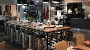 Restaurant Kitchen Table by Restaurant Bergen Food Inspired By The Many Flavors Of Manhattan