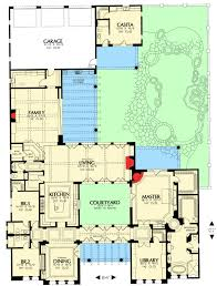 Home Plans With Courtyards Courtyard Living With Casita 16386md Architectural Designs