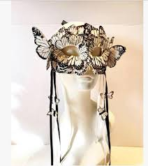 masquerade masks nyc butterfly feather mask nyc masked new years masquerade