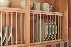 Kitchen Cabinet Dish Rack Solid Wood Oak Plate Rack Wood Kitchen Plate Racks Solid Wood