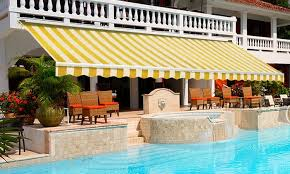 Retractable Folding Arm Awning Retractable Folding Arm Awning Groupon