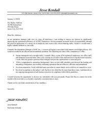 letter regarding relocation