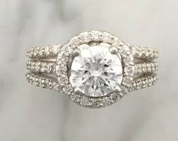 halo engagement ring settings only classic engagement ring in 14k white gold
