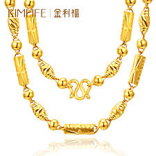 man necklace gold jewelry images Gold jewellery jewellery kimlife gold necklace gold golden pearl jpg