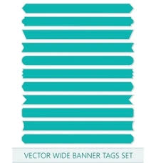 ribbons for sale price ribbons wide sale tags banners vector image